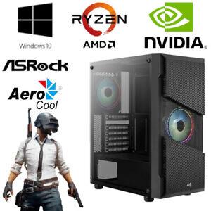 Gaming PC - AMD Ryzen 5 3600, 6x 4,2GHz - 16GB RAM - 512GB SSD + 1TB HDD - WLAN