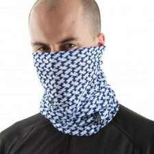 Motorcycle Outdoors EDZ All Climate Multi Tube Scarf/Neck/Face Mask Blue/White