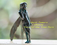 Chante The Iron Fairies (New Bag Pkg)-Fairy of The Tree Fern +2x FREE Fngr Ppets
