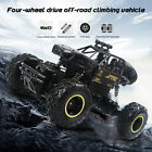 1:16 4WD RC Monster Truck Off-road Vehicle Remote Control Car Climbing Toy Gifts