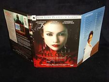 The Cell (DVD 2000) Mint Disc•Real USA Made•No Scratches•Jennifer Lopez