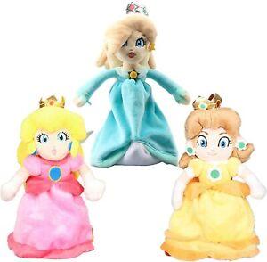 NEW Princess Peach Daisy Rosalina 23cm Plush Toy Doll Mario Luigi Bros Stuffed