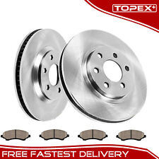 Front Brake Rotors Ceramic Pads Fits for Toyota Camry 2002 2003 2004 2005 2006