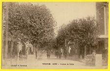 cpa MIRAMAS (Bouches du Rhône) GARE Avenue de SALON de PROVENCE Gardes Barrière