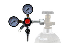 Heavy Duty Dual Gauge CO2 regulator