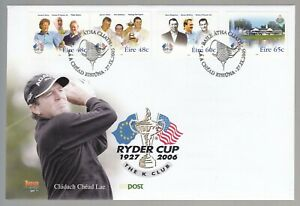 Ireland 2005 FDC Ireland And The Ryder Cup - Golf Theme
