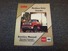 1988 GMC Topkick & Chevy Kodiak C5 C6 C7 Truck Shop Service Repair Manual