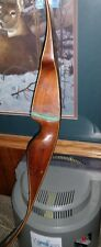 "Vintage BEN PEARSON BRONCO 30# @ 24"" 48"" Recurve Bow LEFT HANDED youth bow"