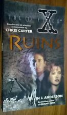 X-files : Ruins by Kevin J. Anderson (Paperback, 1996)