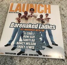 *~Launch*~Barenaked Ladies*~CD*~Digital Magazine*~CD-ROM*~LL Cool J*~Roni Size*~