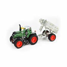 FENDT 313 Vario Traktor mit Kippanhänger Metallbaukasten 1:32