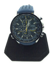 Citizen AT8020-03L Men's Eco-Drive Blue Angels Chronograph Atomic Watch