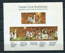 1970 Sheet Captain Cook Bicentenary Discovery of Australia Mnh Imperf 5207
