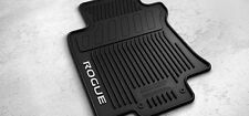 NEW OEM 2014-2017 NISSAN ROGUE 4 PC ALL WEATHER RUBBER FLOOR MATS - BLACK