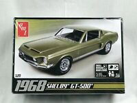 AMT 1968 Shelby GT500 Model Kit #634 1/25 New in Factory Sealed Box