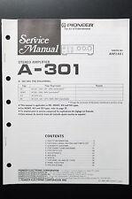 PIONEER a-301 Original Service-Manual/Istruzioni/Schema Elettrico! o4