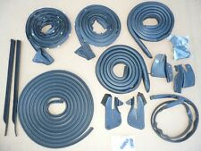 WEATHERSTRIP SEAL 15PC CHARGER B-BODY 68 69 70 RUBBER SEAL KIT