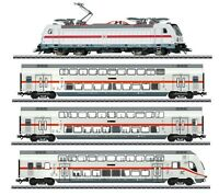 Marklin IC Fast Train TRAXX 3 Cl 147.5  MFX/Sound  Cars with Interior Lighting