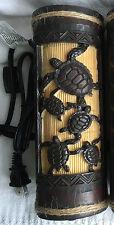 "Hawaiian 9"" Ambient Light Lamp Tiki Bar Honus Poly Resin Home Office Decor NIB"