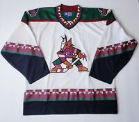 Vintage 90's Phoenix Coyotes Authentic Starter NHL Jersey Mens XL Free Shipping