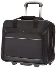 Rolling Laptop Case Bag 17 In Travel Computer Briefcase Wheeled Business Secure