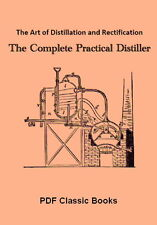 Art of Distillation: How to Distill Brandy Whiskey ~ CD