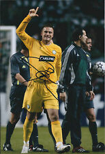 Artur BORUC SIGNED Autograph Photo AFTAL COA Glasgow CELTIC Champions POLAND