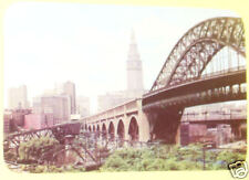 High Level Bridge Looking East - Cleveland 1960s SEE