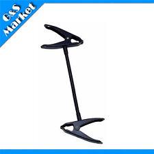 Photo light stand clamp with flex arm Beak clip