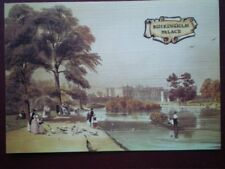 POSTCARD LONDON BUCKINGHAM PALACE - LINEN FINISH