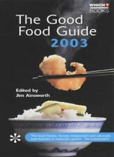 """The Good Food Guide 2003 (""""Which?"""" Guides)-Jim Ainsworth"""