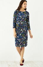 J.Jill DRESS   L   NWT  $109  Boat Neck  Floral  Dress