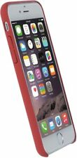 Original Krusell Schutzhülle für iPhone 7 SOFT TOUCH Bellö Cover Case rot
