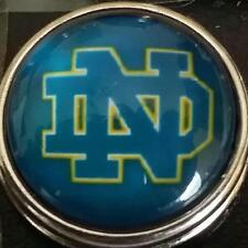 University of Notre Dame, style # 1, 18 mm,snap button USA Seller