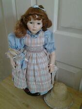 "Pauline bjonness jacobsen 18"" Limited edition porcelain doll Jessie (Rare)"