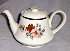 CollectibleTea Pot Wild Rose Pattern Made in England by Arthur Wood & Sons #5438