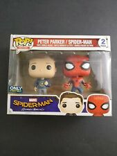 Funko Pop Marvel Peter Parker & Spider-Man Homecoming Best Buy Exclusive bad box