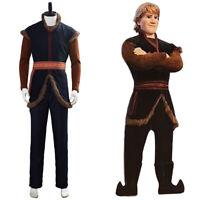 Halloween Prince Kristoff Bjorgman Cosplay Costume Suit Uniform