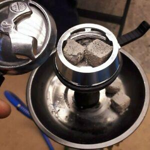 Shisha Kopf Silikon Tabakschale Holzkohlehalter Wasserpfeife Aufsatz Wärmeregler