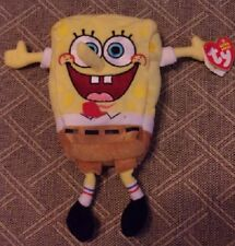 8475548777d TY Beanie Baby - SPONGEBOB SQUAREPANTS Best Day Ever with Embroidered Face