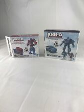 Kre-o Create It Set No. 31143 And 31146 Transformers Optimus Prime And Jazz!