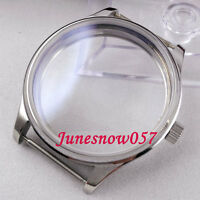 44mm sterile polished stainless steel Watch Case fit for 6497 6498 movement 29