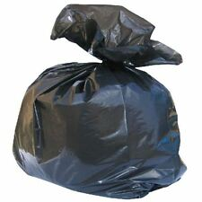 More details for heavy duty bin bags black refuse sacks liners rubbish rubble british made