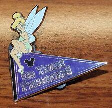 "Disney Tinkerbell ""Go Team PinBacks"" PTU 08' Limited Edition Collectible Pin!"