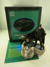 Batman and Robin Gotham Rooftop - Batman Forever Statue Diorama Applause 1995 DC