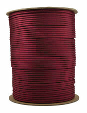 Burgundy - 550 Paracord Rope 7 strand Parachute Cord - 1000 Foot Spool