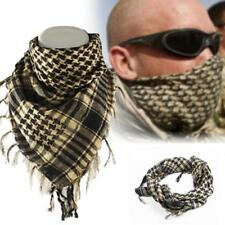 Light weight Military Arab Tactical Desert Army Shemagh KeffIyeh Scarf Beige GA