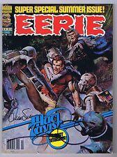 Eerie #96 Vg/Fn Signed w/Coa Walt & Louise Simonson 1978 Bronze Warren Magazine