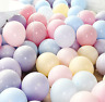 10 inch latex Large Macaron Pastel Balloons helium or air in10 -100 pack
