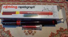 rotring rapidograph - 0,18
